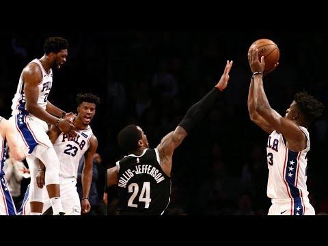 Jimmy Butler Game Winner! Embiid Self Oop! 2018-19 NBA Season