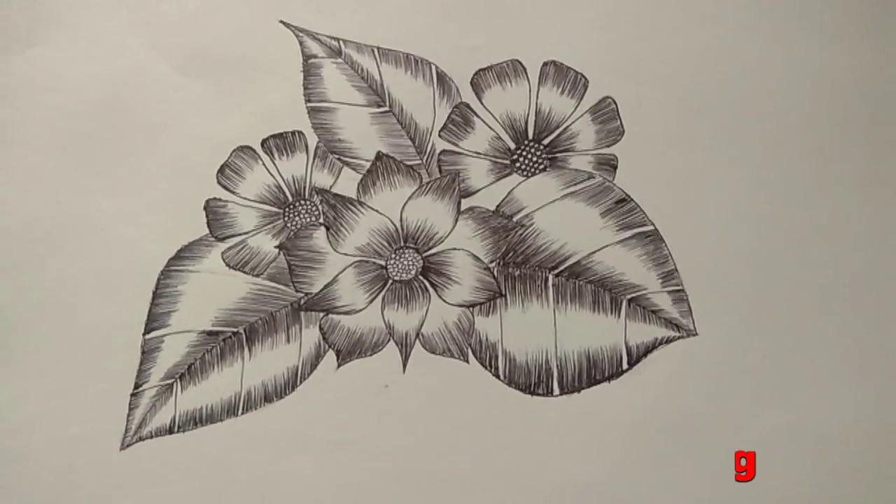 Pen Drawing Easy Simple