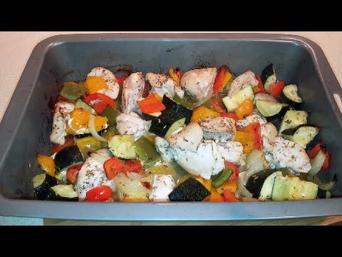 Oven Roasted Chicken Kebabs (no skewers) low carb, paleo ...