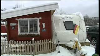 Lokalzeit Südwestfalen Wintercamping in Züschen