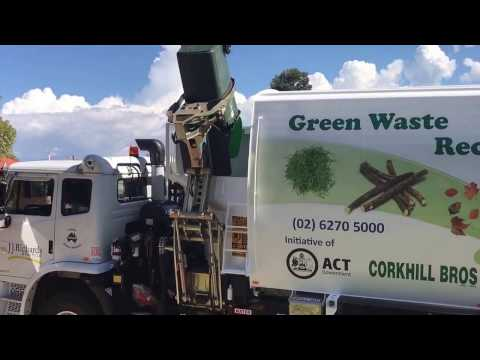 Green waste collection in Canberra