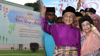 Dr M overwhelmed by turnout to open house Mp3