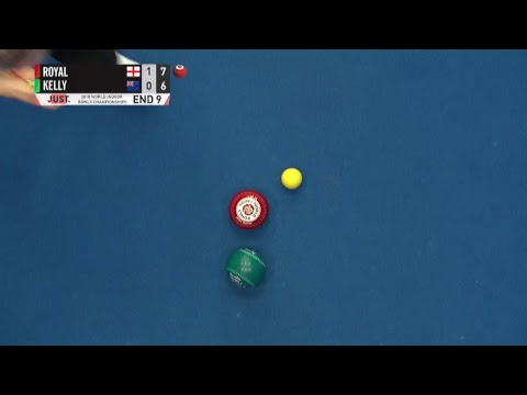 JUST 2018 Worlds Indoor Bowls Championships: Session 29