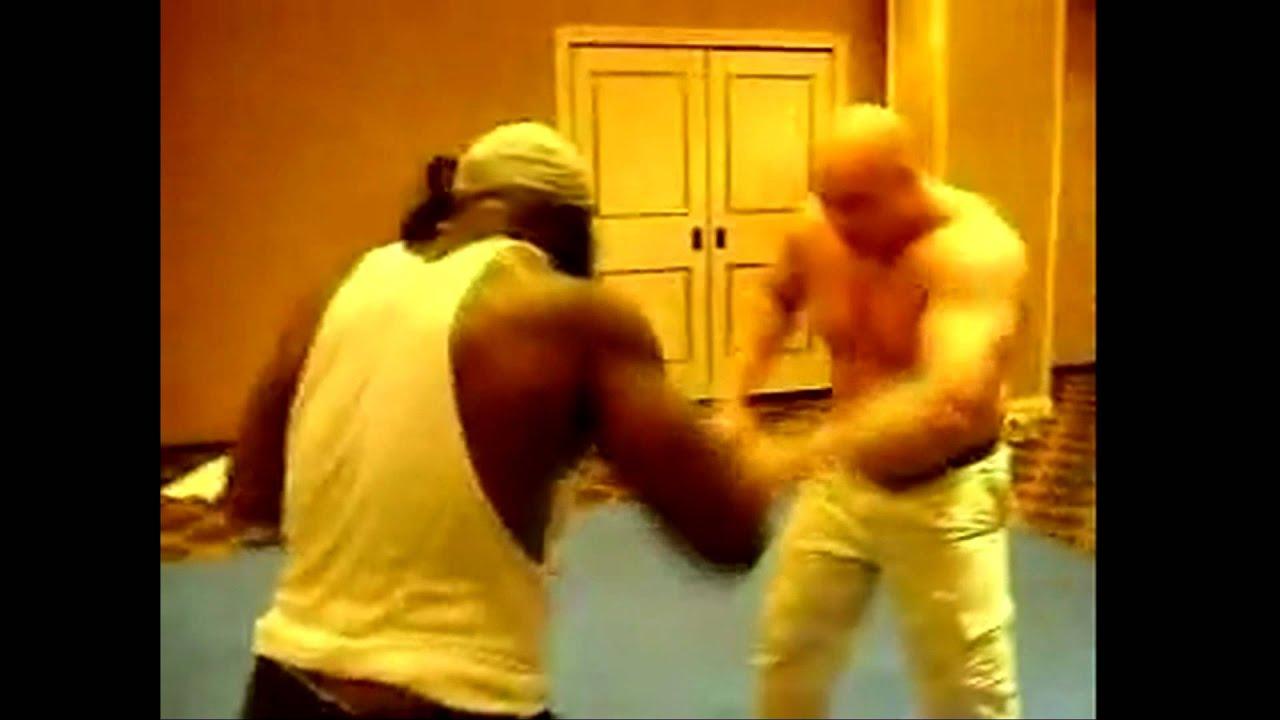 kimbo slice vs giant serb serb is huge youtube