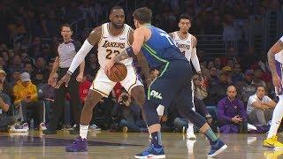 Luka Splashes LeBron! Mavs Snap Lakers 10 Game Streak! 2019-20 NBA Season