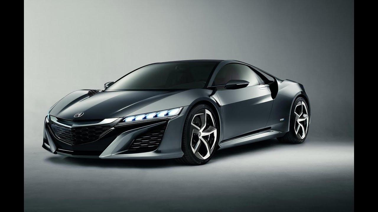 Next Evolution Honda Nsx Concept Sport Hybrid Sh Awd System