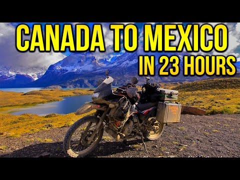 Driving CANADA to MEXICO in 23 hours  |   [ Part 15 ]