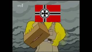 [The Simpsons Hearts of Iron/WW2 Meme] When the Allies build Forts