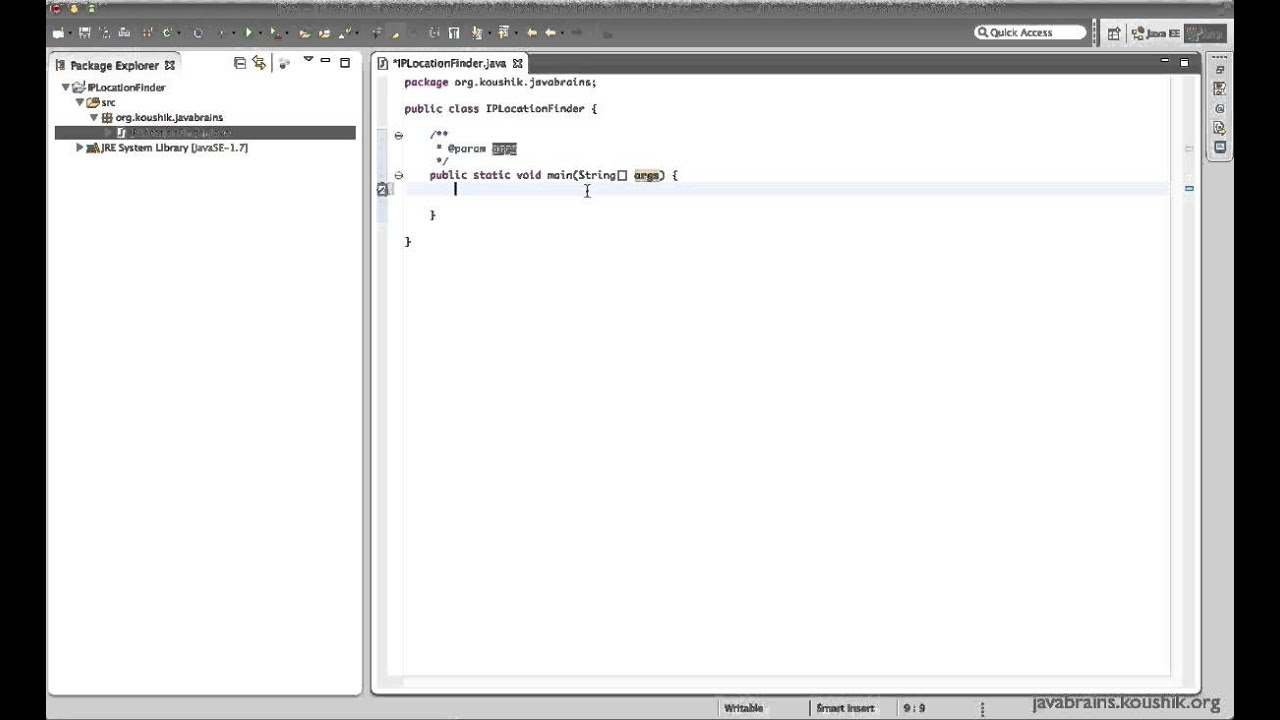 SOAP Web Services 03 - Writing a Web service Client: Stub generation
