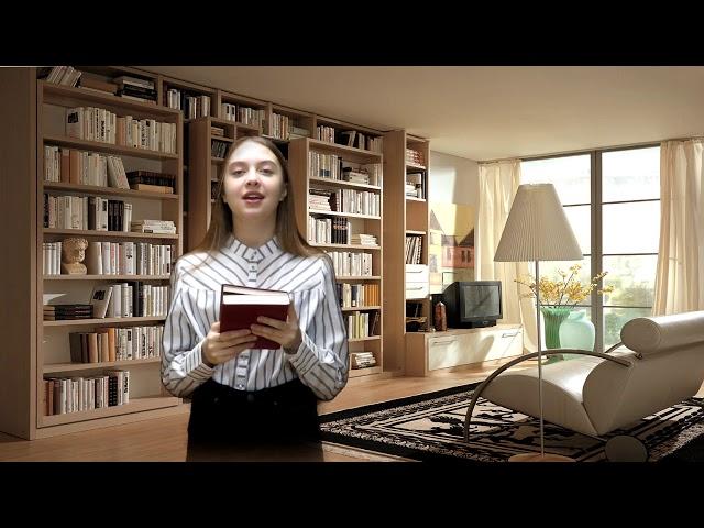 Изображение предпросмотра прочтения – АнтонинаАссекритова читает произведение «Книга в красном переплете» М.И.Цветаевой
