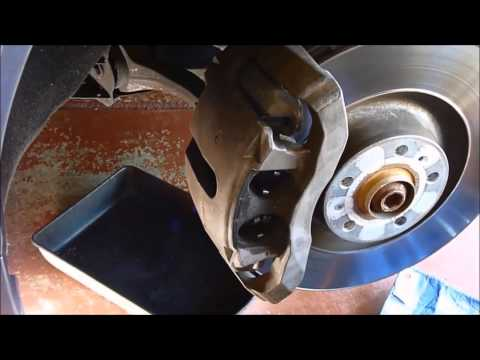 Replace Front Brakes On Audi A8L
