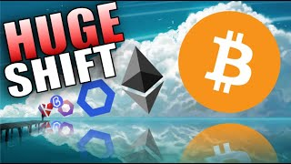 THE BIG CRYPTO SHIFT IS BEGINNING! BITCOIN AND ETHEREUM LEADING THE CHARGE!