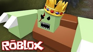 Roblox - Zombie Rush 2 - GIANT KING ZOMBIE?
