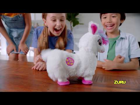 New from ZURU Pets Alive | Boppi The Booty Shakin' LLama! Real Shakin' and Dancin' Pet