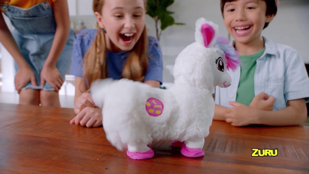 New From Zuru Pets Alive Boppi The Booty Shakin Llama Real Shakin And Dancin Pet Youtube