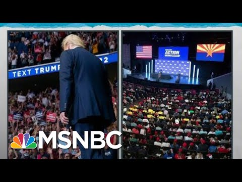 Trump Makes Himself Lone Exception With COVID-19 Risking Crowds   Rachel Maddow   MSNBC