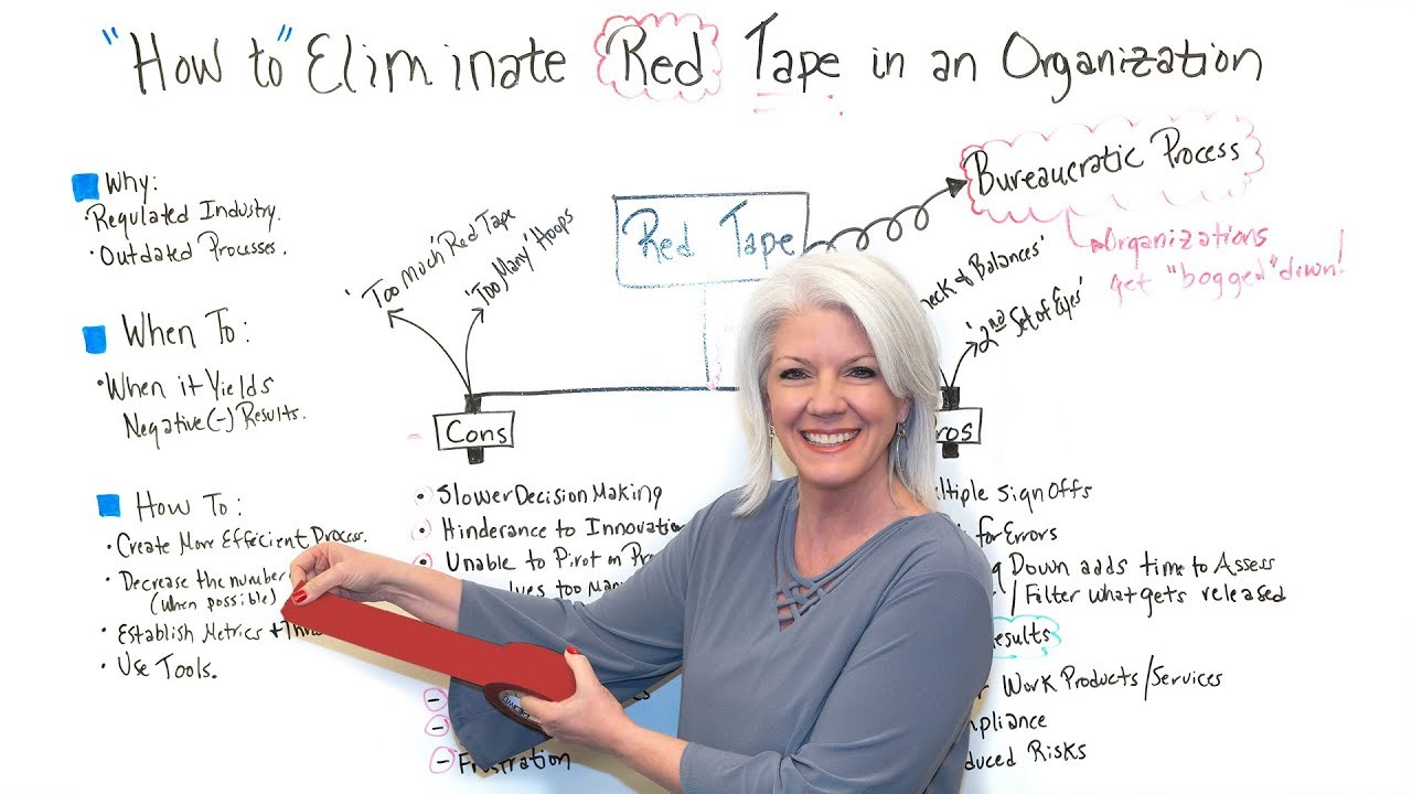 How to Eliminate Red Tape in an Organization
