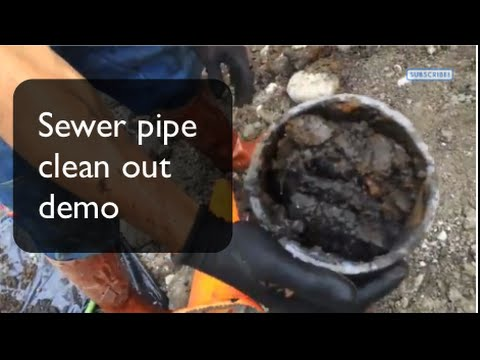 Sewer Backup And Basement Flooding   Side Sewer Cleanup Demo, Best  Plumbing, Seattle,(206) 633 1700   YouTube
