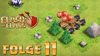 Let's Play CLASH OF CLANS ☆ Folge 11