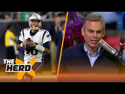 Colin Cowherd reacts to the Patriots trading Jimmy Garoppolo to the 49ers   THE HERD