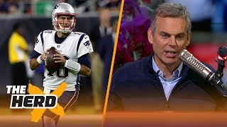 Colin Cowherd reacts to the Patriots trading Jimmy Garoppolo to the 49ers | THE HERD