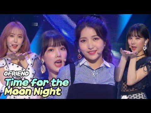 [HOT] GFRIEND - Time for the moon night,여자친구 - 밤 Show Music core 20180519