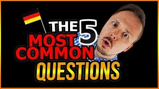 The 5 Questions People Always Ask About Germany And Germans...Answered By Get Germanized