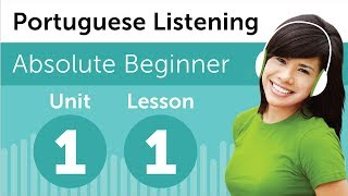 Learn Brazilian Portuguese - Portuguese Listening Comprehension - At a Brazilian Bookstore