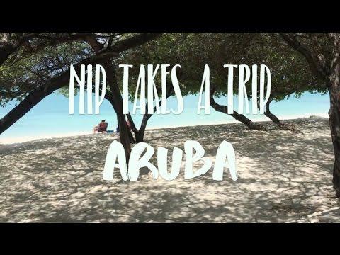 nip takes a trip: aruba