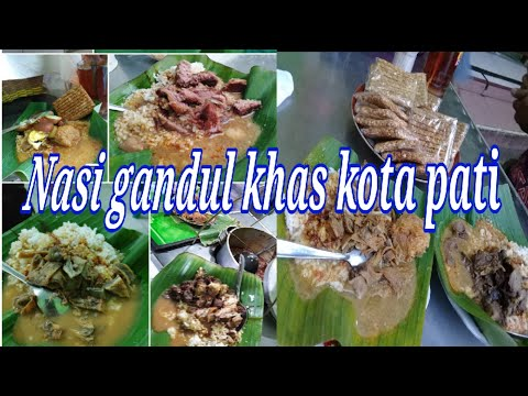 kuliner-nasi-gandul-khas-kota-pati-jawa-tengah-|-nasi-gandul-pak-harjo