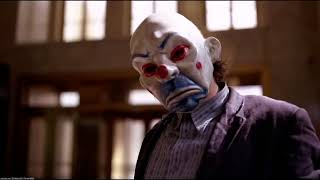 Joker'in Banka Soygunu Batman Kara Şovalye 2008 İlk Sahne Türkçe Dublaj HD 1080p