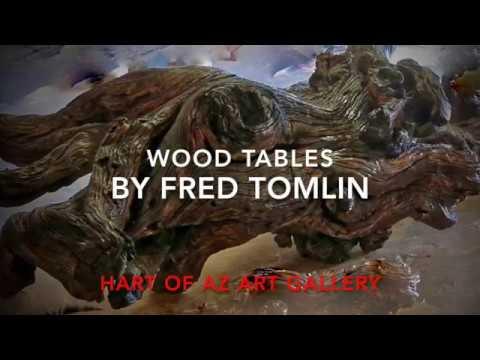 Final Fred Tomlin     Wood Artist