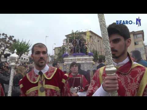 La Pollinica desafía a los nubarrones - Semana Santa de Ceuta 2017