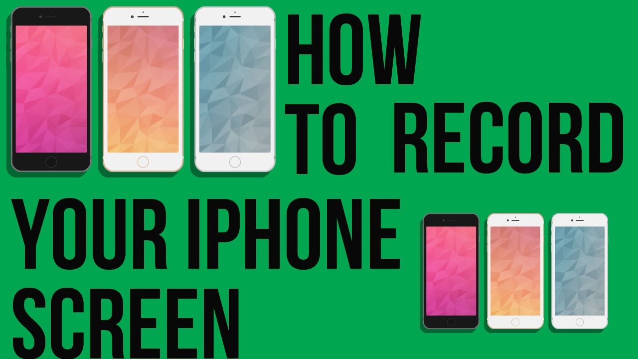 how to record ipod touch screen no jailbreak