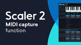 Scaler 2 New Feature | MIDI Capture Function