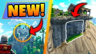 Fortnite Season 4: 2 SECRET SPOTS + CHESTS FOUND! – Giant ROCKET and Battle Royale Tips!