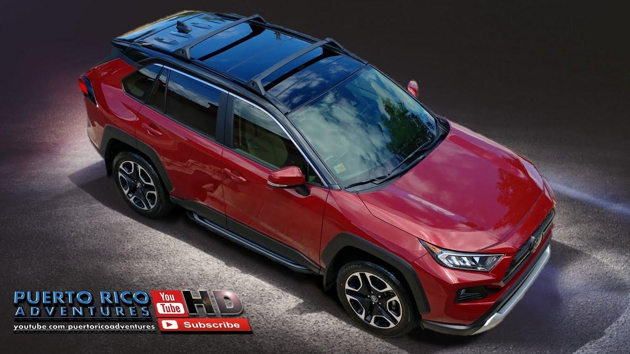 Toyota Rav4 2020 Custom Hybrid Prime Plug In Black Top Red Color