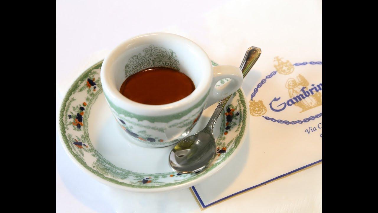 tutorial caff a napoli caffe espresso youtube. Black Bedroom Furniture Sets. Home Design Ideas