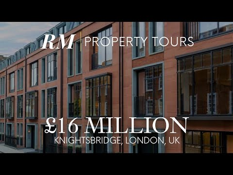 Inside £16M Luxury New Build Homes in Knightsbridge, London, UK | Residential Market Property Tour