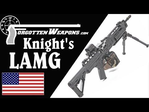 Knight&39;s Assault Machine Guns at the Range