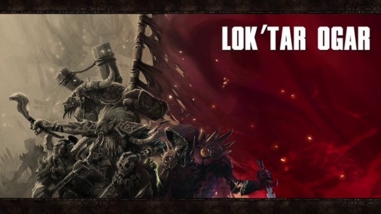 Tomas Iglesias Lok Tar Ogar Victory Or Death Youtube Lok'tar ogar is an 'orcish' warcry meaning victory or death. tomas iglesias lok tar ogar victory