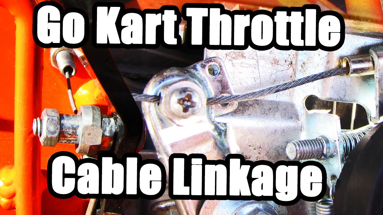 Go Kart Throttle Cable: Parts Kit & Setup - KartFab com