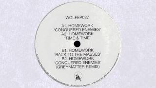 Homework - Conquered Enemies (Wolf Music, 2014)