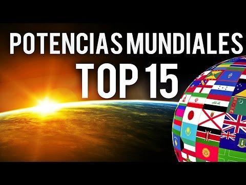 LOS 15 PAISES MAS PODEROSOS DEL MUNDO