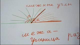Смежные углы. Что нужно знать, чтобы решать задачи по геометрии? Геометрия 7 класс