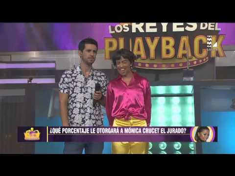 Mónica Crucet se lució con playback de 'Los Sultanes'