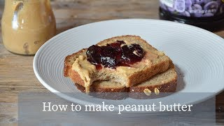 How to make peanut butter / Как приготовить арахисовую пасту #delicious #healthy #food