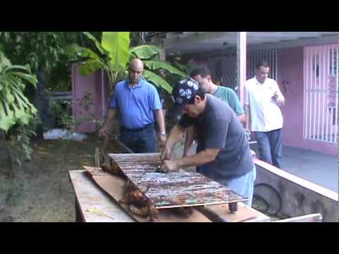 LECHON ASADO EN LA PLENA DE SALINAS PR DIA DE MADRE 2010mpg