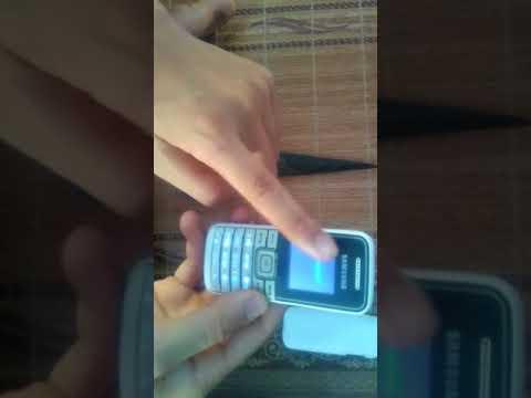 Mở khoá điện thoại Samsung GT- E1050