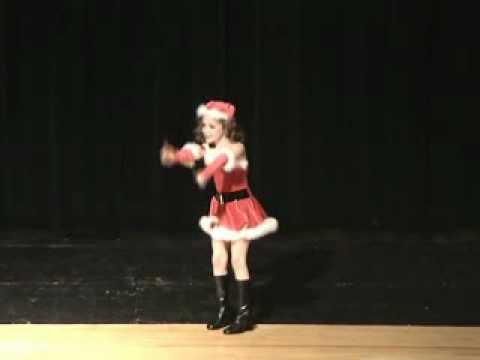 Molly Clark singing I want a Hippopotamus For Christmas
